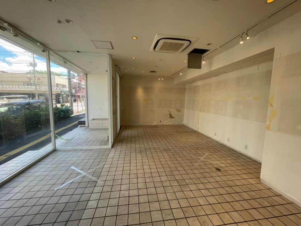佐倉市の店舗改装工事