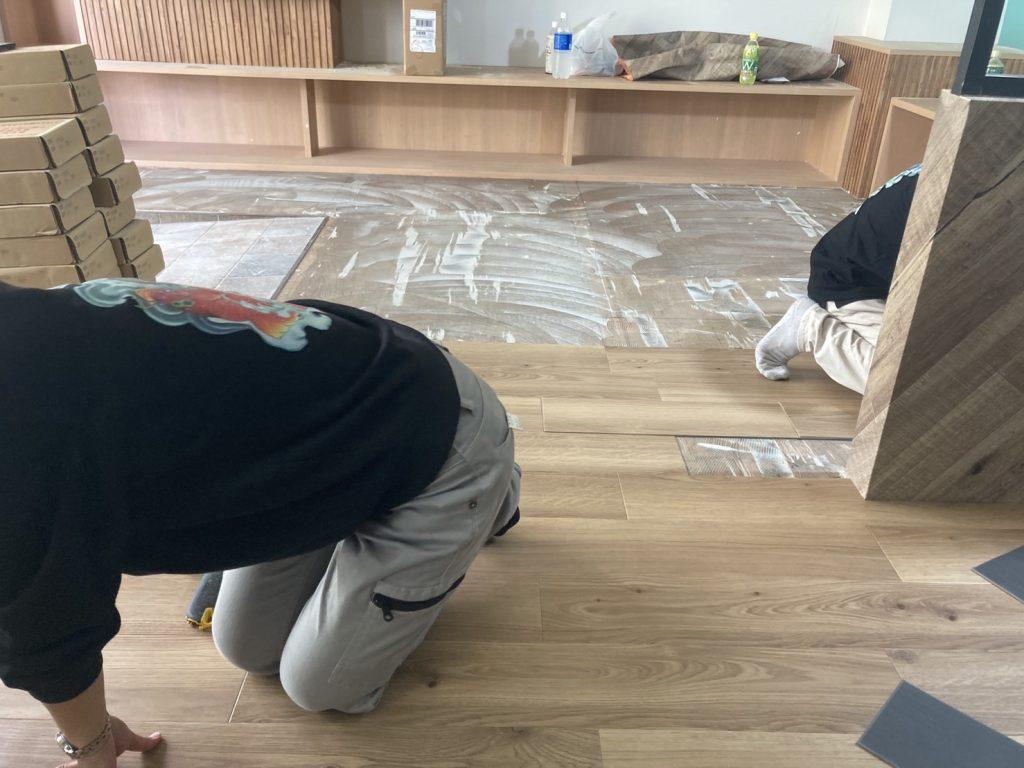 習志野市の店舗改装工事。
